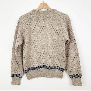 Eddie Bauer Sweaters - Eddie Bauer   Vintage Cat Sweater Hearts Floral